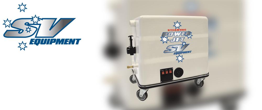 Steamvac PowerJet Portable Steam Cleaner